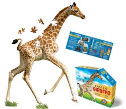 I Am Lil' Giraffe Wildlife Children's Puzzles