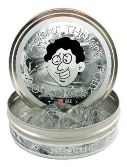 "Liquid Glass 4"" Tin Novelty"