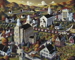 Logan Fall United States Jigsaw Puzzle