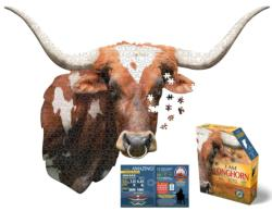 I Am Longhorn - Scratch and Dent Wildlife Jigsaw Puzzle