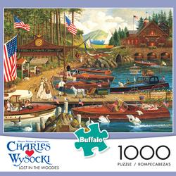 Lost in the Woodies Seascape / Coastal Living Jigsaw Puzzle