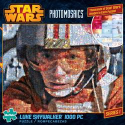 Star Wars Photomosaic - Luke Skywalker Movies/Books/TV Photomosaic