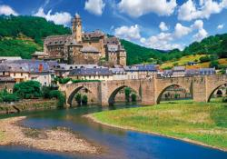 Estaing France (Colorluxe 1500) France Jigsaw Puzzle