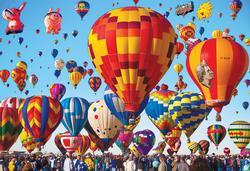 Albuquerque Balloon Fiesta (Colorluxe) Balloons Jigsaw Puzzle