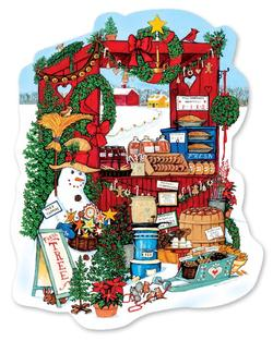 Farm Stand  Winter Food and Drink Jigsaw Puzzle
