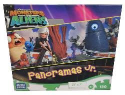 Monsters Vs. Aliens (Panoramas Jr.) Movies / Books / TV Children's Puzzles