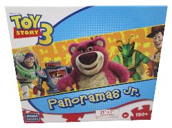 Playtime Is Over (Panoramas Jr.) Disney Panoramic Puzzle