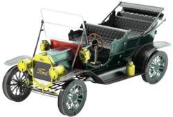 1908 Ford Model T Vehicle Dark Green Nostalgic / Retro Metal Puzzles