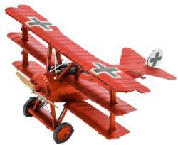 Fokker Dr.I Triplane Nostalgic / Retro Metal Puzzles