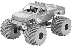 Monster Truck - Flames Vehicles Metal Puzzles