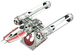 Zorii's Y-Wing Fighter - Rise of Skywalker Star Wars Star Wars Metal Puzzles