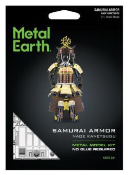 Samurai Armor (Naoe Kanetsugu) Military / Warfare Metal Puzzles