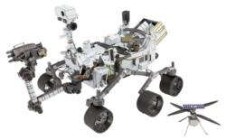 Mars Rover Perseverance & Ingenuity Helicopter Science Metal Puzzles