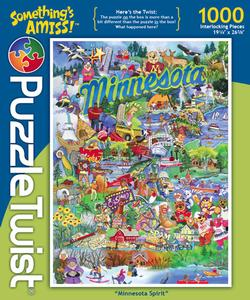 Minnesota Spirit Collage Impossible Puzzle