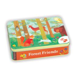 Forest Friends Other Animals Tin Packaging