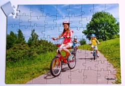 Biking (63pc) Dementia / Alzheimer's Large Piece