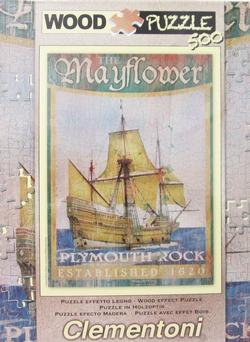 Mayflower History Wooden Jigsaw Puzzle