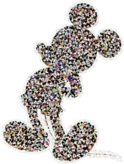 Mickey Disney Shaped Puzzle