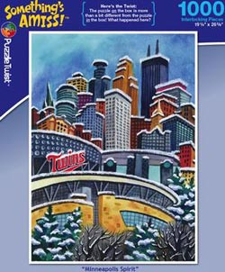Minneapolis Spirit Cities Jigsaw Puzzle