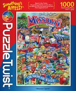 Missouri Spirit Landmarks / Monuments Jigsaw Puzzle