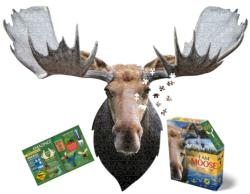 I Am Moose Wildlife Jigsaw Puzzle