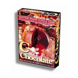Mystery Puzzle - C is for Chocolate Murder Mystery Jigsaw Puzzle