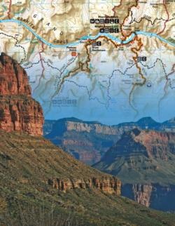 Grand Canyon Maps / Geography Miniature Puzzle