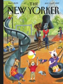 Off the Leash Magazines and Newspapers Jigsaw Puzzle