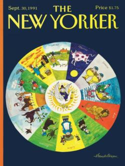Mother Goose Zodiac Magazines and Newspapers Children's Puzzles
