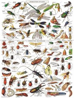 INSECTS ~ INSECTES Butterflies and Insects Jigsaw Puzzle