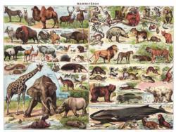 Mammals ~ Mammiferes Animals Jigsaw Puzzle