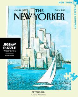 Setting Sail (The New Yorker) United States Jigsaw Puzzle