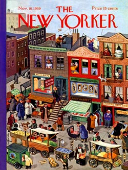 Main Street (The New Yorker) Magazines and Newspapers Jigsaw Puzzle