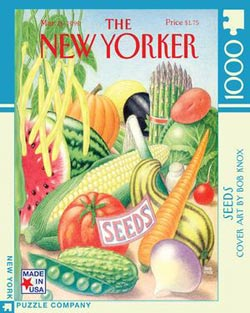 Seeds (The New Yorker) Nostalgic / Retro Jigsaw Puzzle