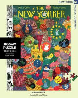 Holiday Ornaments (The New Yorker) Christmas Jigsaw Puzzle