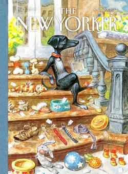 Tag Sale (The New Yorker) Nostalgic / Retro Jigsaw Puzzle
