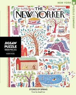 Stories of Spring (The New Yorker) Lakes / Rivers / Streams Jigsaw Puzzle