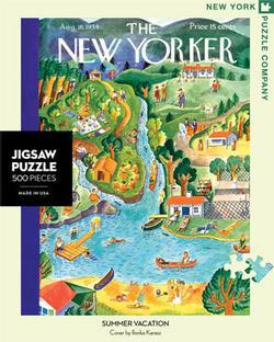 Summer Vacation (The New Yorker) Lakes / Rivers / Streams Jigsaw Puzzle