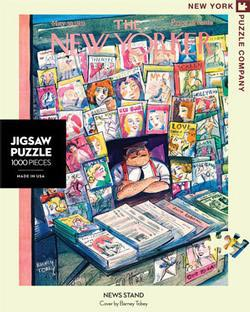 News Stand (The New Yorker) Magazines and Newspapers Jigsaw Puzzle