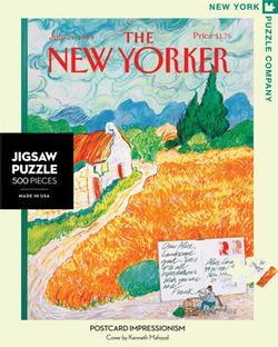 Postcard Impressionism (The New Yorker) Impressionism Jigsaw Puzzle