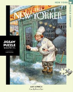 Just a Pinch (The New Yorker) Nostalgic / Retro Jigsaw Puzzle