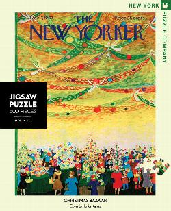 Tis the Season (The New Yorker) Christmas Jigsaw Puzzle
