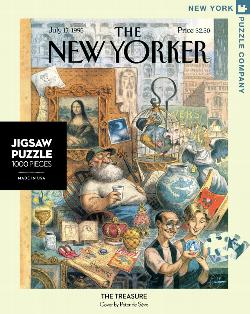 The Treasure (The New Yorker) Magazines and Newspapers Jigsaw Puzzle