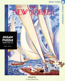 Regatta (The New Yorker) Nostalgic / Retro Jigsaw Puzzle