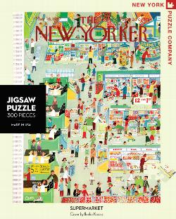 Supermarket (The New Yorker) Magazines and Newspapers Jigsaw Puzzle