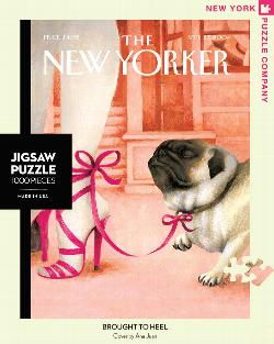 Brought to Heel (The New Yorker) Nostalgic / Retro Jigsaw Puzzle