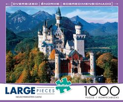 Neuschwanstein Castle Mountains Large Piece