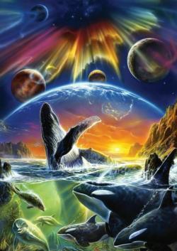 Orca Aurora Under The Sea Jigsaw Puzzle