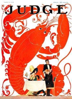 Lobster Lovers (Judge) Valentine's Day Jigsaw Puzzle