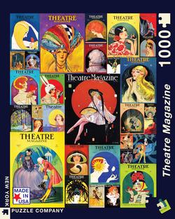Theater Collage People Jigsaw Puzzle
